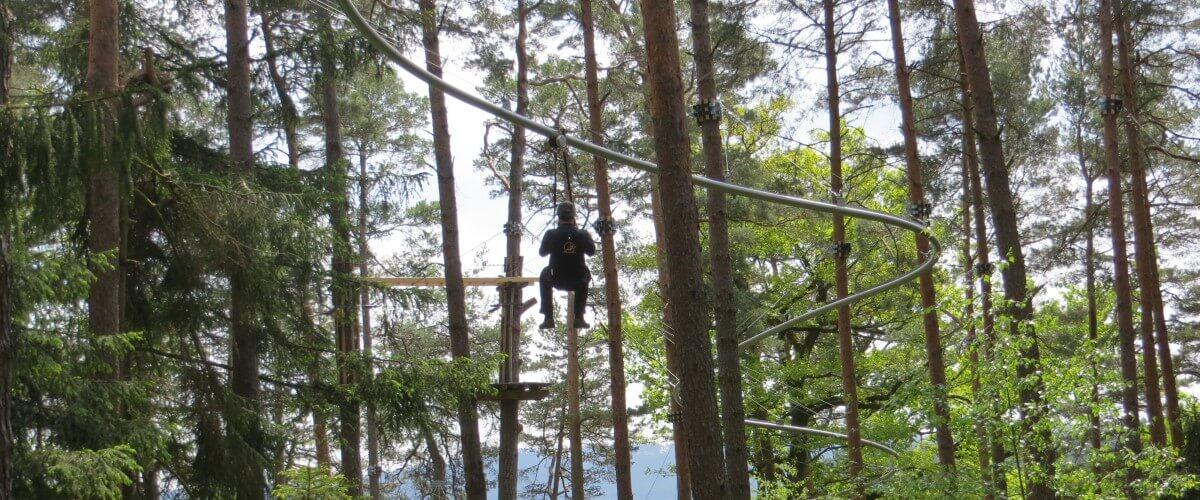 Abenteuerwald -Fly-Line